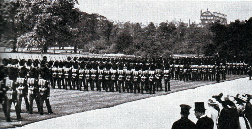 Irish Guards before the War