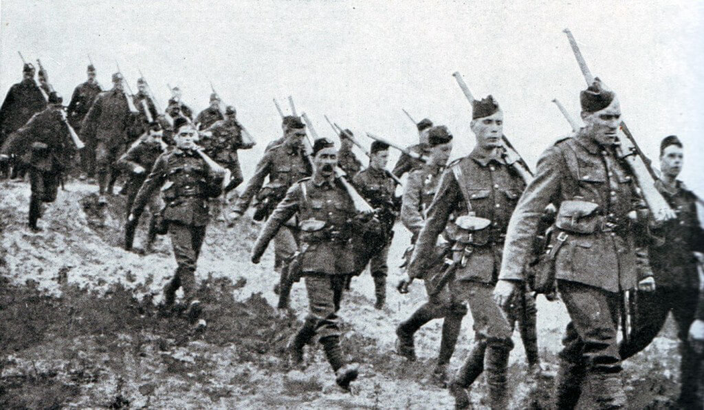 1st Cameronians of the British 19th Brigade