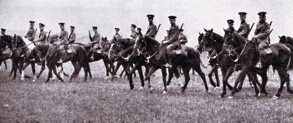 British cavalry in 1914