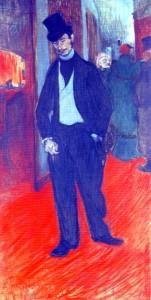 Dr Tapié de Celeyran by Henri de Toulouse-Lautrec 1894.