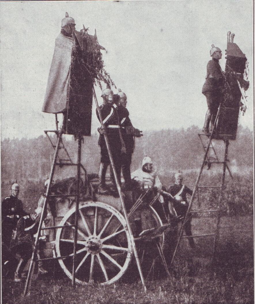 German field observation ladders