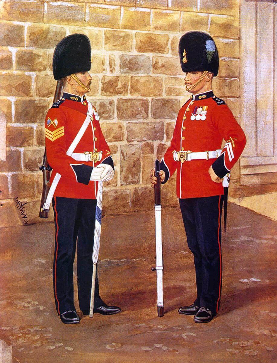 Royal Dublin Fusiliers 1909