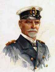 Vice Admiral Reichsgraf Maximilian von Spee, the German admiral at the Battle of the Falkland Islands on 8th December 1914 in the First World War