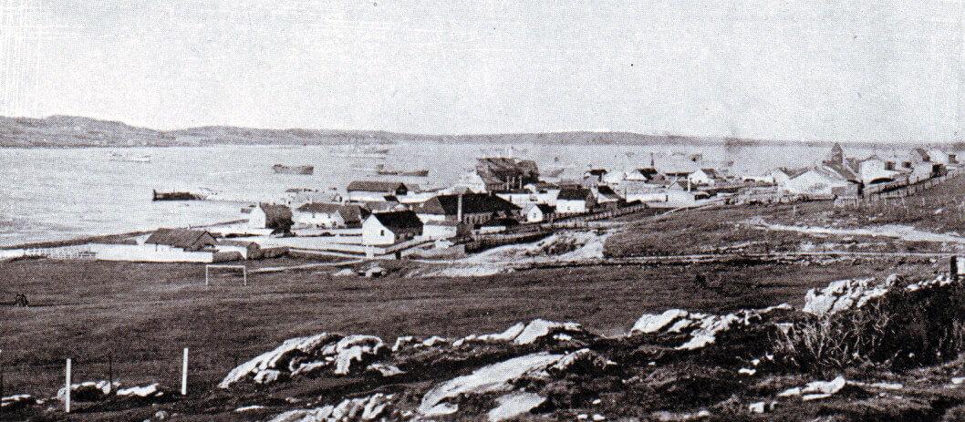 Port Stanley, Falkland Islands, in 1914