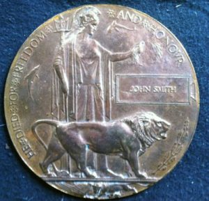Reverse of Medal issued in Germany celebrating the German victory atthe Battle of Coronel on1st November 1914 in the First World War