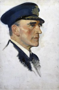 Commodore Reginald Tyrwhitt RN, commander of 1st and 3rd Destroyer Flotillas in the Heligoland Bight operation on 28th August 1914.