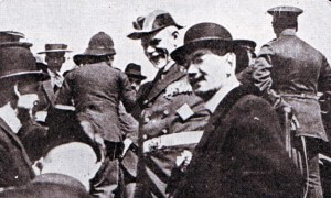 Admiral Graf von Spee in Valparaiso after the Battle of Coronel