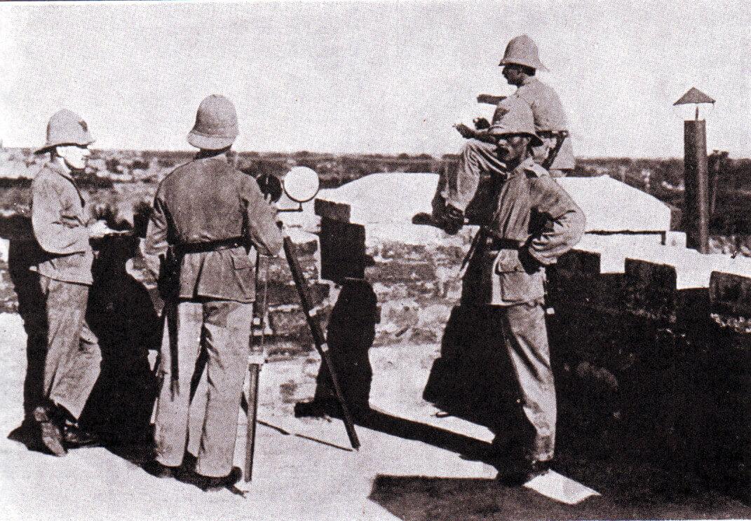 German Marines at Tsing Tao