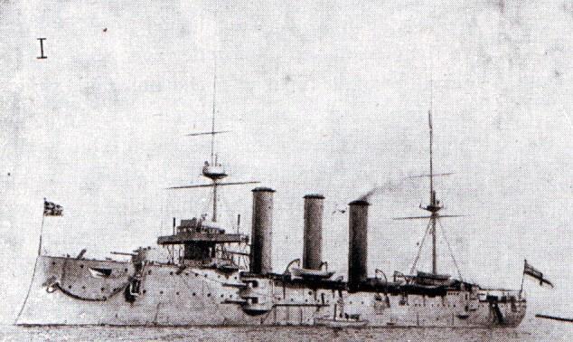 Rear Admiral Sir Christopher Cradock's second armoured cruiser HMS Monmouth