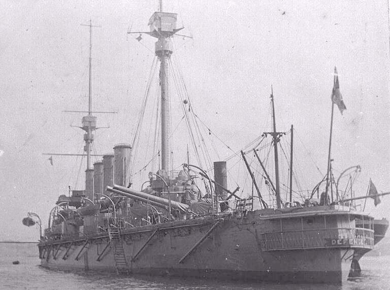 British Armoured Cruiser HMS Defence (sunk at Jutland in 1916)