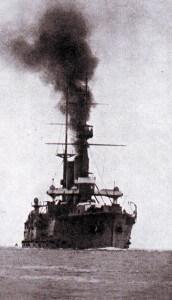 Japanese Battle Cruiser Ikoma