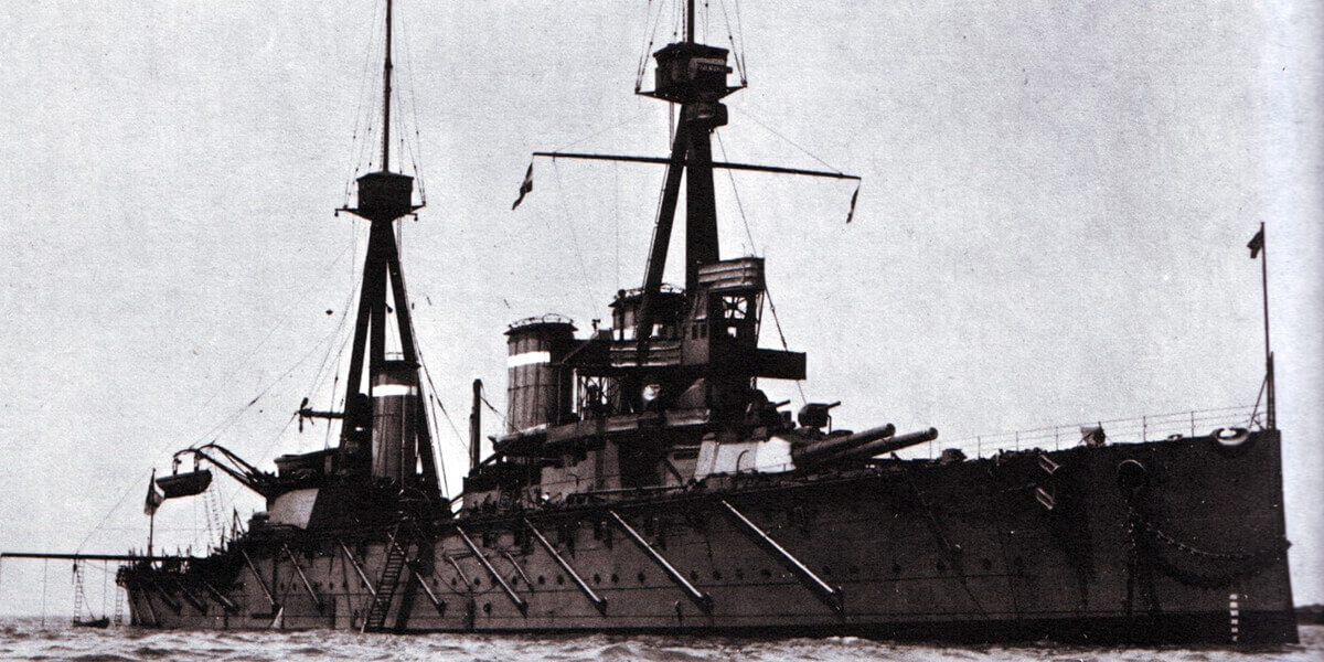 Admiral Graf von Spee's flagship the protected cruiser SMS Scharnhorst: To buy a picture of SMS Scharnhorst click here.