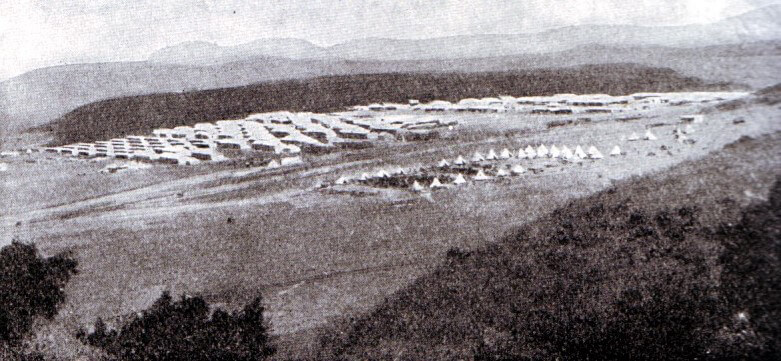 British Army Camp at Ladysmith October 1889