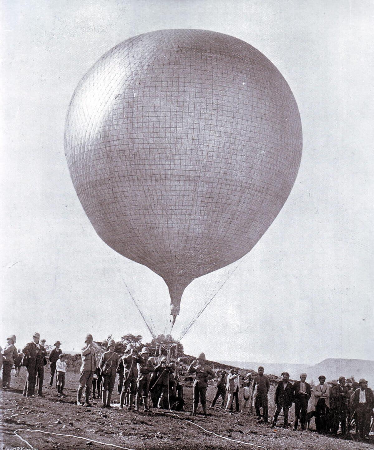 Royal Engineers' Balloon in Ladysmith