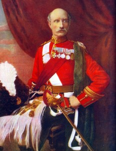 Lieutenant General Sir George White VC DSO GCB British commander-in-chief at the Battle of Ladysmith Lombard's Kop and Nicholson's Nek on 30th October 1889