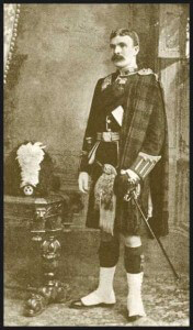 Sergeant Major William Robertson of the 2nd Gordon Highlanders who won the Victoria Cross at the Battle of Elandslaagte on 21st October 1899
