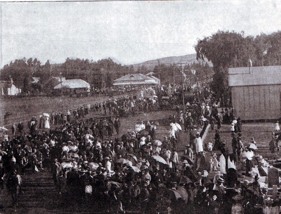 The funeral in Pretoria of Commandant Kock wounded and captured at the Battle of Elandslaagte on 21st October 1899 and who died a few days later in a British hospital in Ladysmith