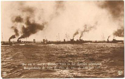 German 7th Half-Flotilla of S115, S116 (not present at the Texel action), S117, S118 and S119