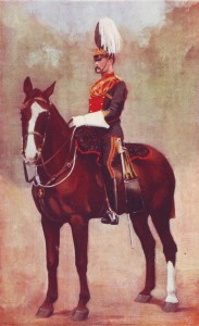 Officer of the 9th Lancers, the sole British cavalry regiment at the Battles of Belmont and Graspan in November 1899