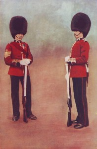 Scots Guards in Home Service uniform