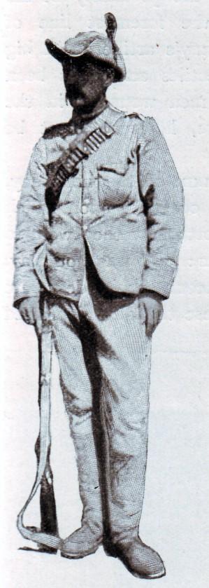 Sergeant Cunningham of Rimington's Scouts
