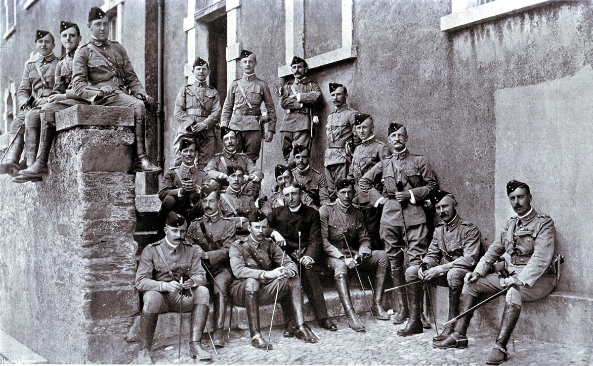 Officers of 1st Royal Munster Fusiliers in South Africa