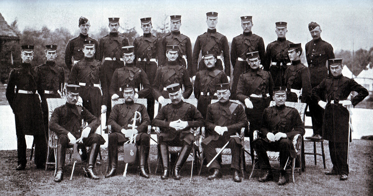 Officers of the 3rd Grenadier Guards