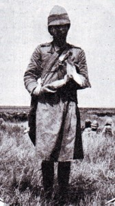 Wounded Highlander after the Battle of Magersfontein on 11th December 1899