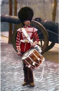 Scots Guards drummer
