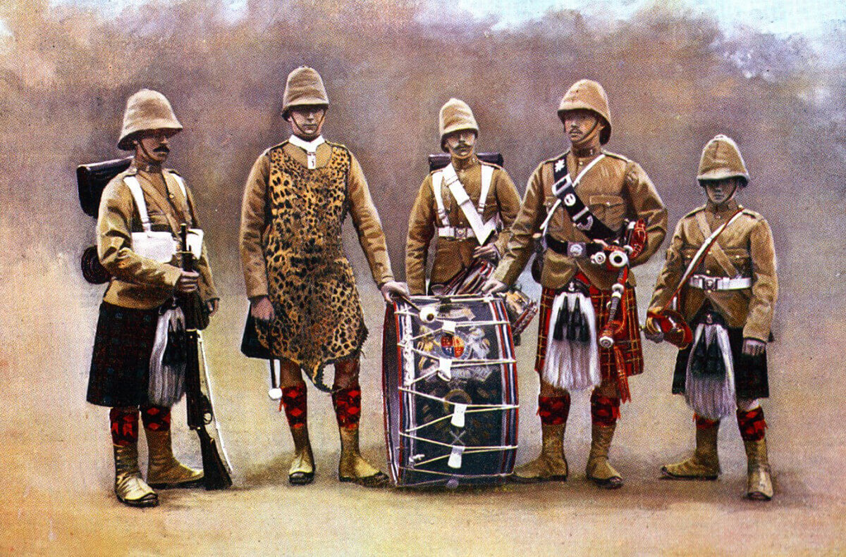 Black Watch: the Regiment's 2nd Battalion fought at the Battle of Magersfontein on 10th and 11th December 1899