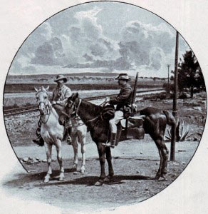 Boer burghers in the field during the South African War