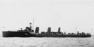 HMS Bulldog: British destroyer, part of the flotilla of destroyers that provided escorts for the capital ships in the Dardanelles and played a major role in landing the troops on the Gallipoli Peninsular and providing them with support