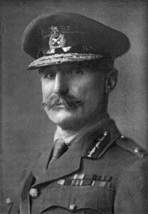 Lieutenant General Sir Aylmer Hunter-Weston GOC of 29th Division and in command of the landings on Cape Helles Gallipoli on 25th April 1915