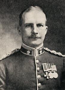 Lieutenant Colonel Sinclair-McLagan commanding 3rd Australian Brigade in the Anzac landings on 25th April 1915
