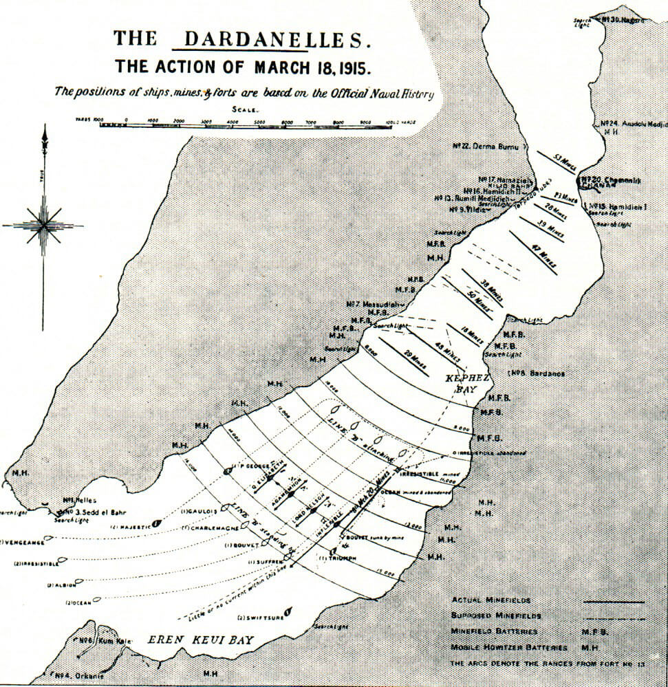 The Gallipoli Campaign Part I The Naval Attack On The Dardanelles
