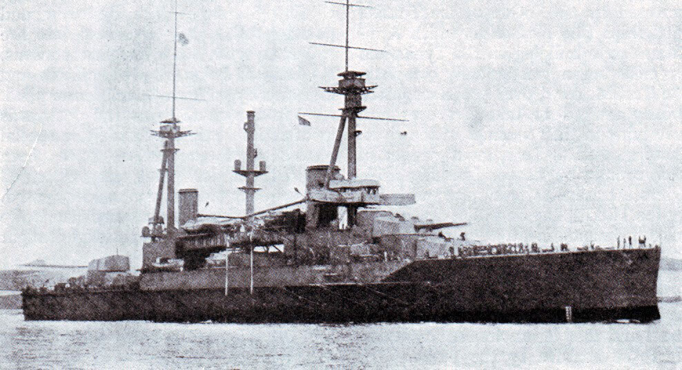 Sultan Osman I:  One of two battleships under construction in British shipyards in 1914 sold to the Turkish navy, one of these ships financed by Turkish public subscription.  The battleship was commandeered by the British Government and joined the Royal Navy's Grand Fleet as HMS Agincourt