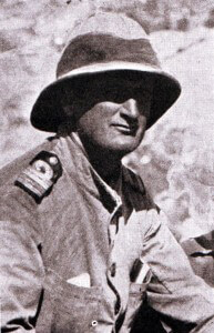 Commander Unwin proposer of the scheme to use the collier River Clyde in the V Beach landings at Cape Helles on Gallipoli and captain of the collier. Commander Unwin was awarded the Victoria Cross for his conduct on 25th April 1915