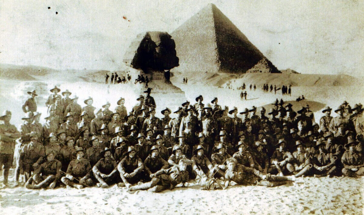D Company (Tasmanian), 12th Battalion, Australian Imperial Force, Egypt 30th December 1914