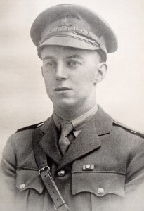 Lieutenant Noel Loutit of 10th Battalion Australian Imperial Force later in the Great War as a lieutenant Colonel with the DSO & Bar