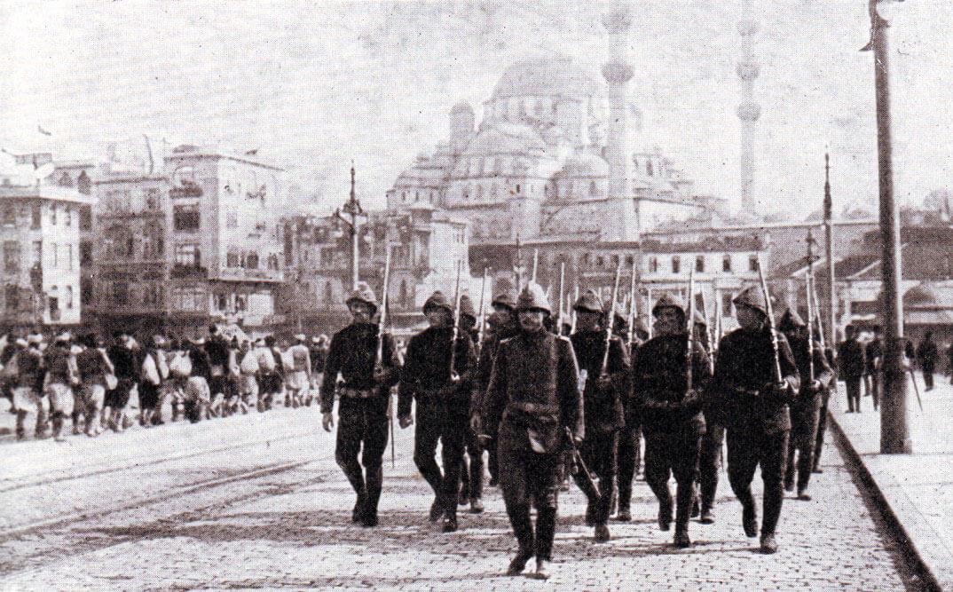 Ottoman Turkish troops