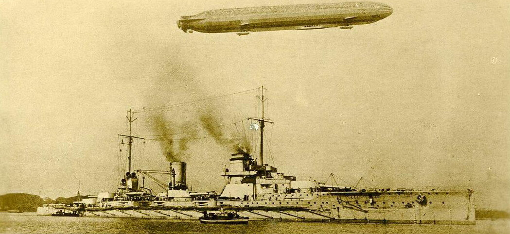 German battle cruiser SMS Seydlitz: Seydlitz was Admiral Hipper's flagship in the Dogger Bank Action on 24th January 1915