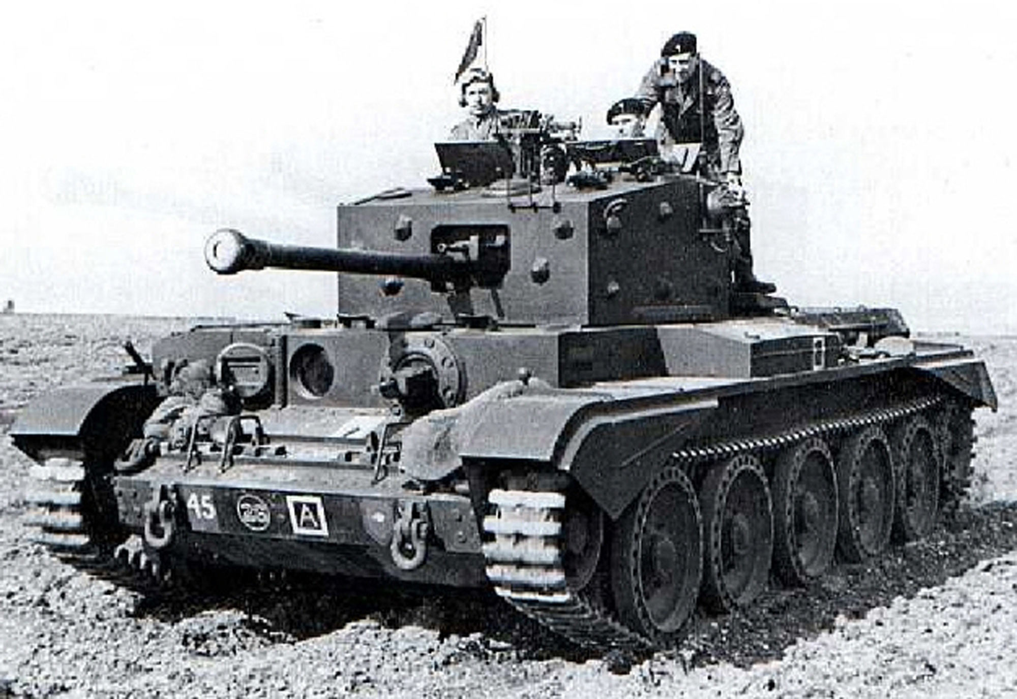 A Welsh Guards Cromwell Tank in 1944 (not Lord Griffiths')