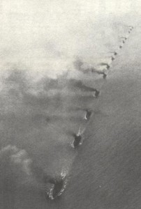 German High Seas Fleet at sea