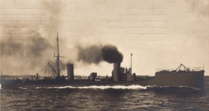 German Torpedo Boat (Destroyer) 1916. Torpedo Boats of this type fought at the Battle of Jutland on 31st May 1916