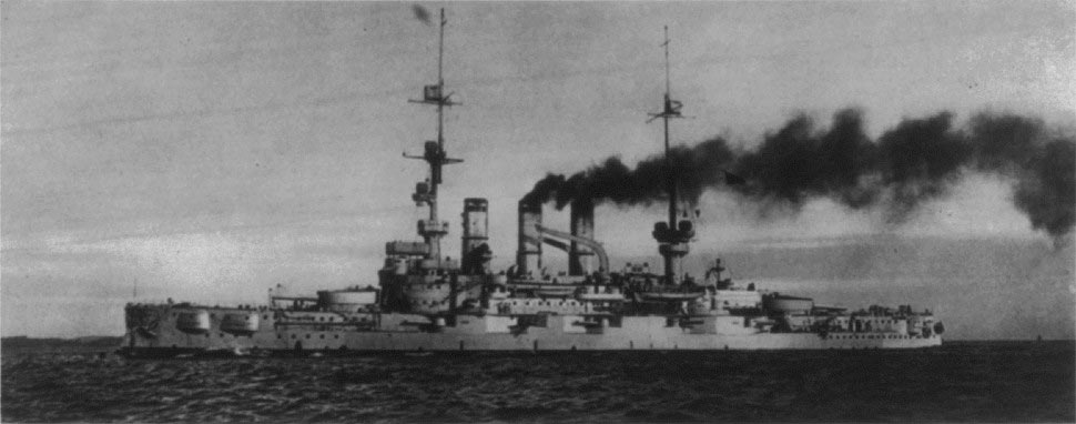 German Battleship SMS Pommern torpedoed in the early hours of 1st June 1916 Battle of Jutland by British 12th Destroyer Flotilla with the loss of her crew
