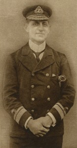 Commodore Goodenough commander of the 2nd Light Cruiser Squadron at the Battle of Jutland 31st May 1916