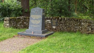 'Last Enemy' Memorial to Battle of Britain pilot Richard Hilary