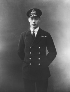 •Prince Albert, later King George V, as a naval officer. Prince Albert fought at the Battle of Jutland on 31st May 1916 on the British Battleship HMS Colossus and came under fire
