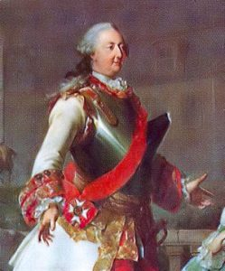 Charles August Prince of Waldeck and Pyrmont: Battle of Fontenoy on 11th May 1745 in the War of the Austrian Succession