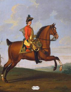 Duke of Cumberland's Dragoons: Battle of Lauffeldt 21st June 1747 in the War of the Austrian Succession